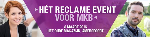 Hèt Reclame Event MKB