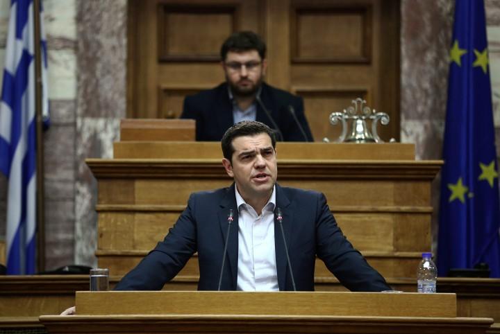 Alexis Tsipras Bron: EPA