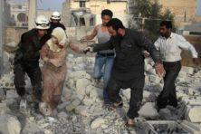In Syrië is het leven een interruptie van de dood