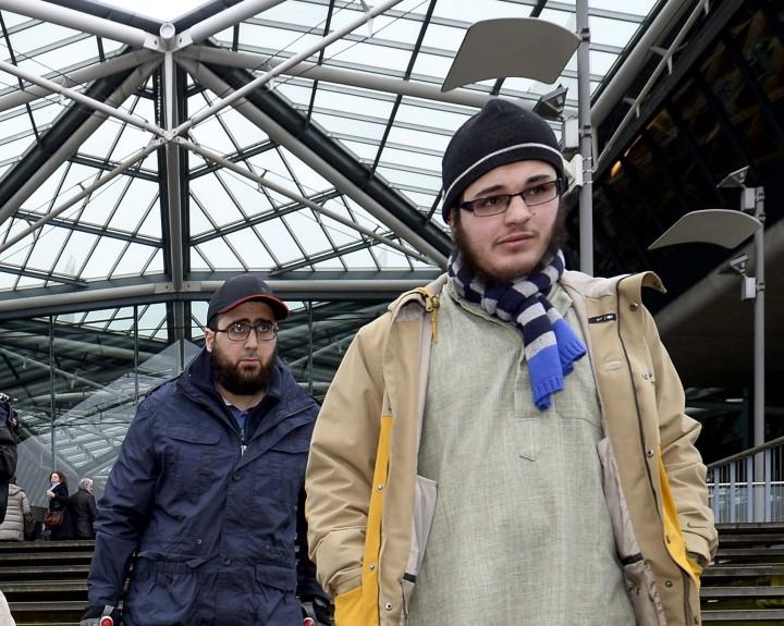 Bilal El Makhoukhi werd vorig jaar veroordeeld in het proces over Sharia4Belgium - Foto: AFP