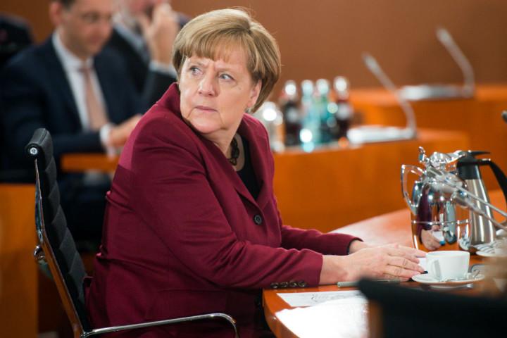 Merkel erkent gedeeltelijk haar fout maar blijft erbij dat vervolging op zijn plaats is - Foto: AFP