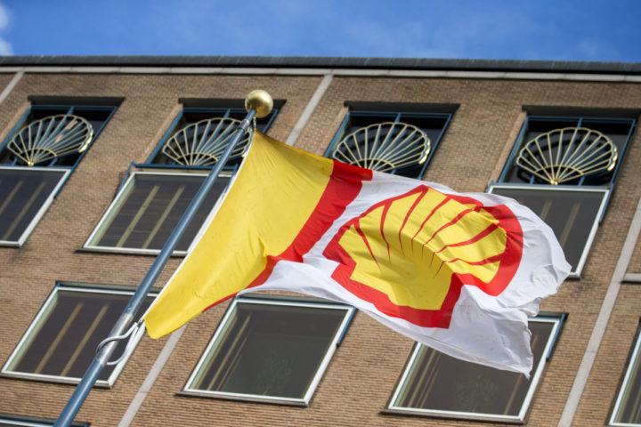 2015-07-30 09:20:52 DEN HAAG - Het hoofdkantoor van Shell. Het olie- en gasconcern gaat circa 6500 banen schrappen, omdat het bedrijf veel last heeft van de lage olieprijzen. ANP JERRY LAMPEN