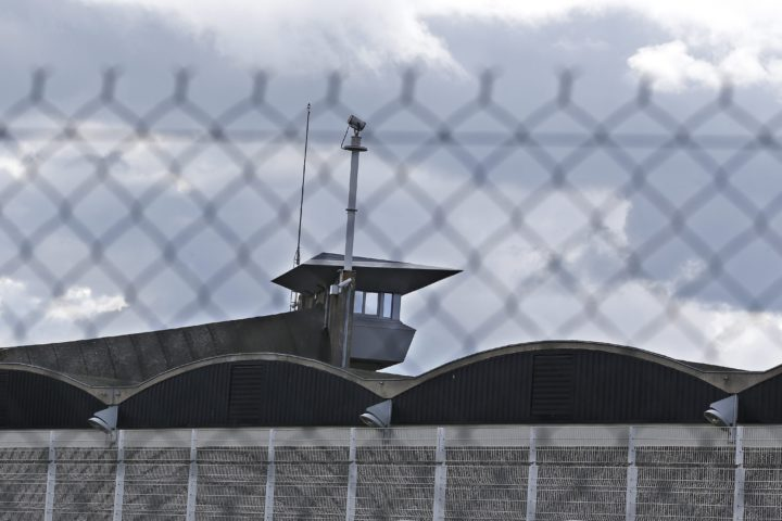 2016-04-28 12:14:12 epa05281296 Exterior view of the Fleury-Merogis prison, south of Paris, France, 28 April 2016. Early 27 April 2016, Paris attacks suspect Salah Abdeslam was handed over to French authorities to face prosecution in relation to the Paris terror attacks on 13 November 2015. According to reports, Salah Abdeslam will be incarcerated in an isolated area of the Fleury-Merogis prison, near Paris. EPA/YOAN VALAT