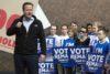 Ook Britten laten zich niet overtuigen door dreigementen