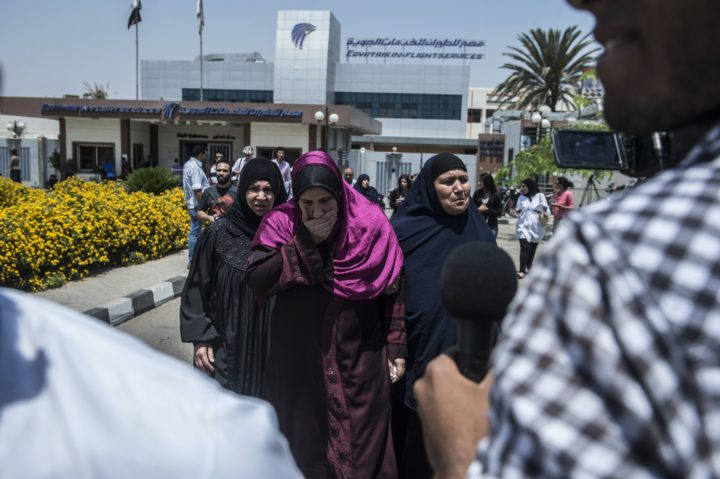 De nabestaanden werden ingelicht door de Egyptische en Franse autoriteiten Foto: AFP