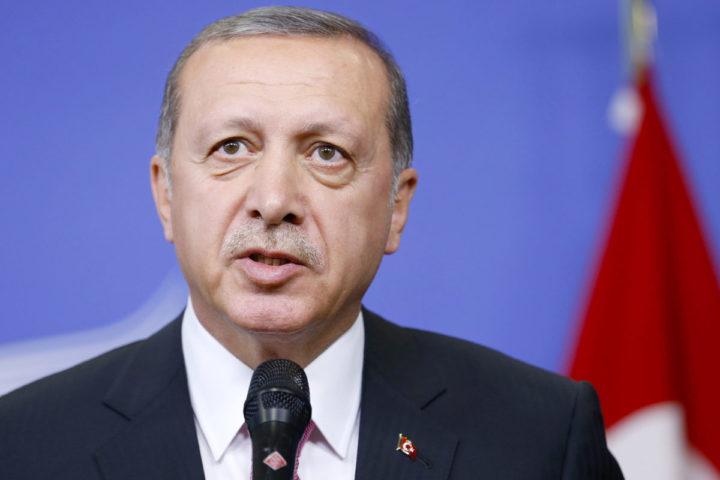 De eis van Erdogan is afgewezen - Foto: AFP