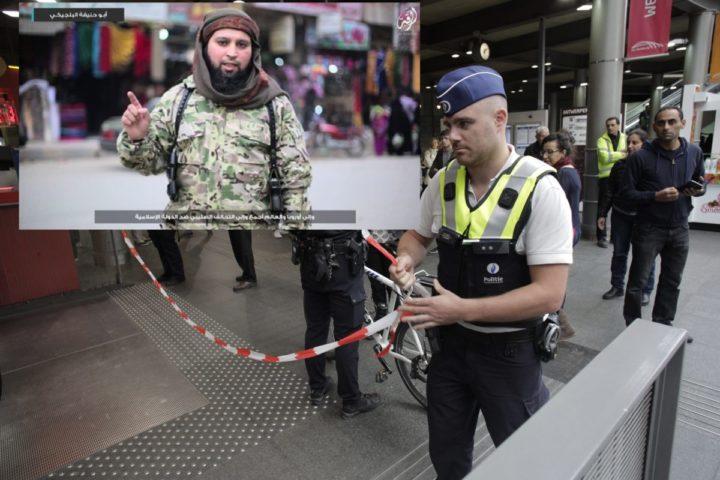 2015-09-18 11:50:41 ANTWERPEN - Een deel van station Antwerpen-Centraal is ontruimd en afgezet, nadat er verdacht koffertje is gevonden in een trein van Brussel naar Amsterdam. ANP ARIE KIEVIT