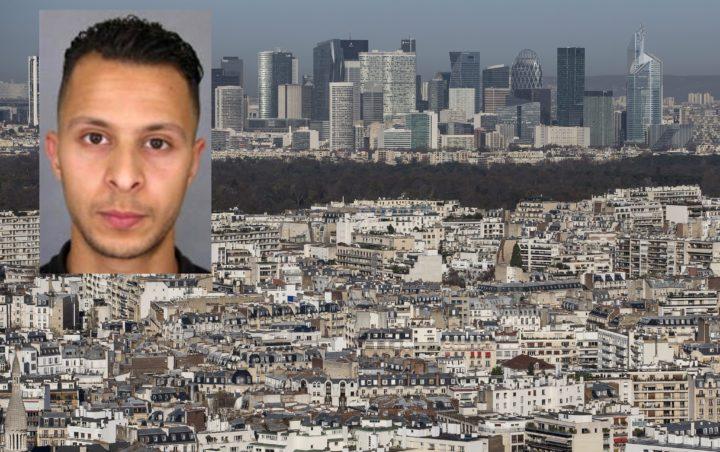 2015-11-26 12:09:33 epa05042628 La Defense, Paris' financial district dominates the Paris skyline, in Paris, France, 26 November 2015. EPA/IAN LANGSDON