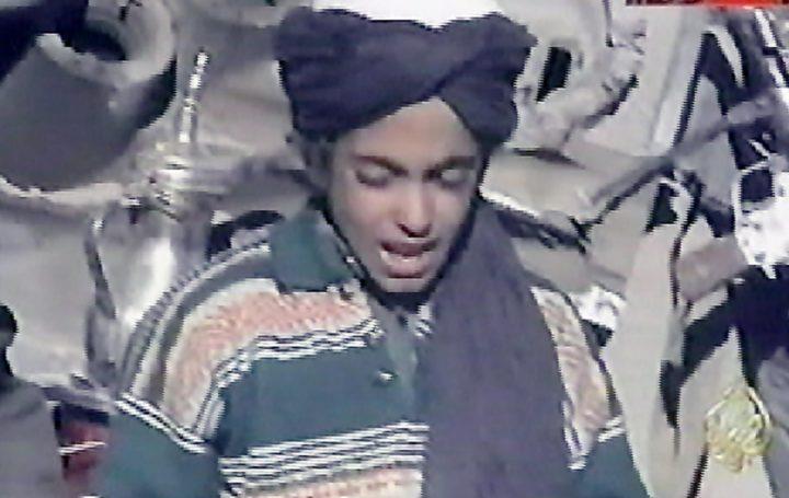 Hamza bin Laden in 2001 Foto: AFP