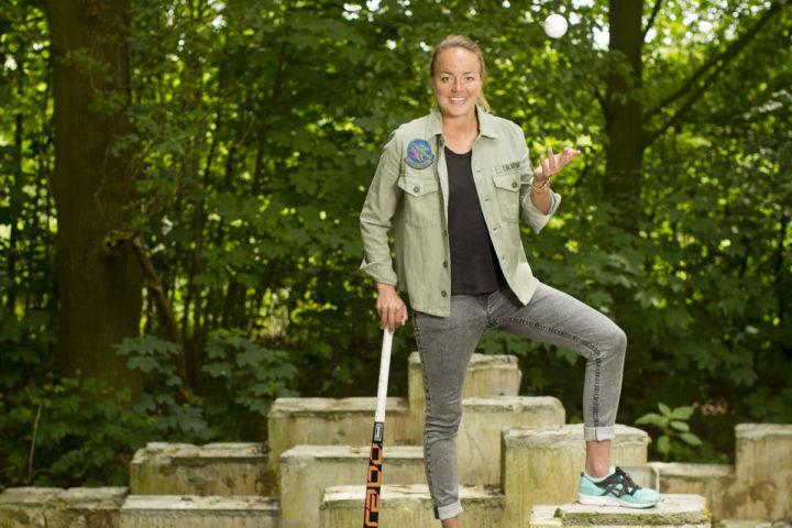 26-05-2016, Den Bosch. Hockey speelster Maartje Paumen. Foto: Bastiaan Heus