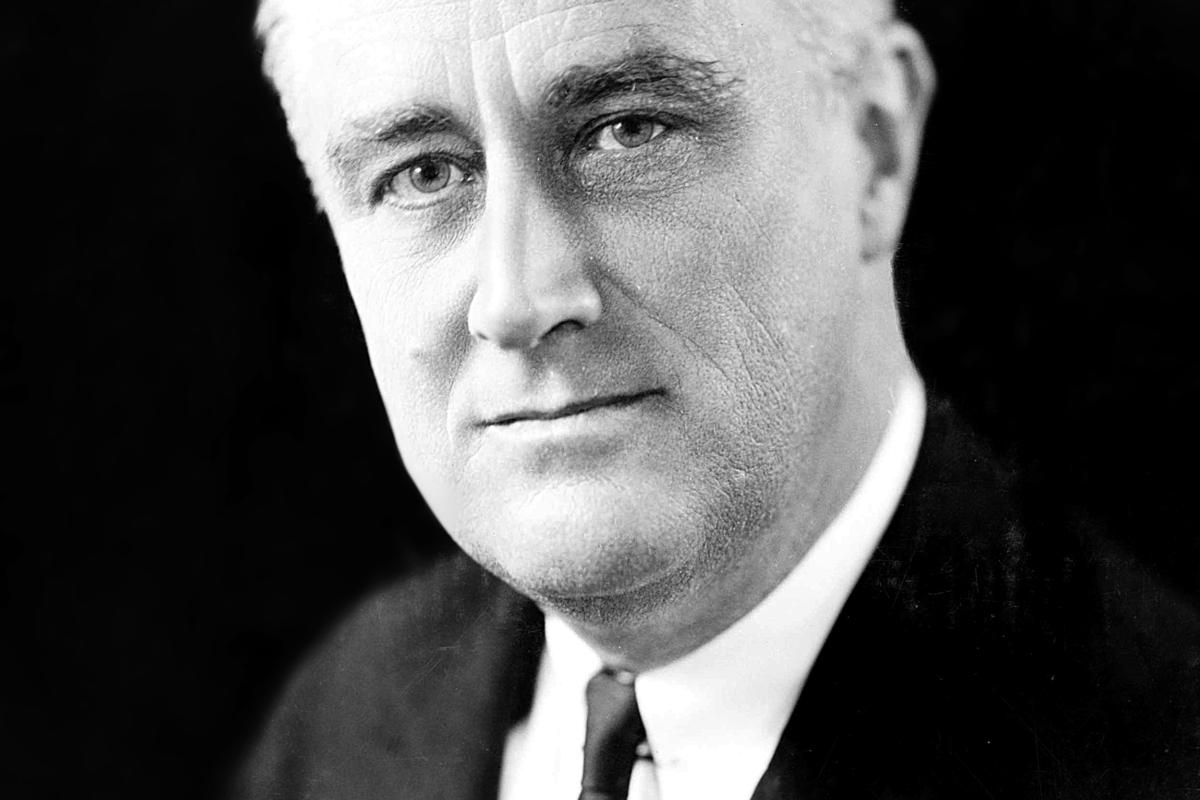 De Amerikaanse President Franklin D Roosevelt 1933 1945