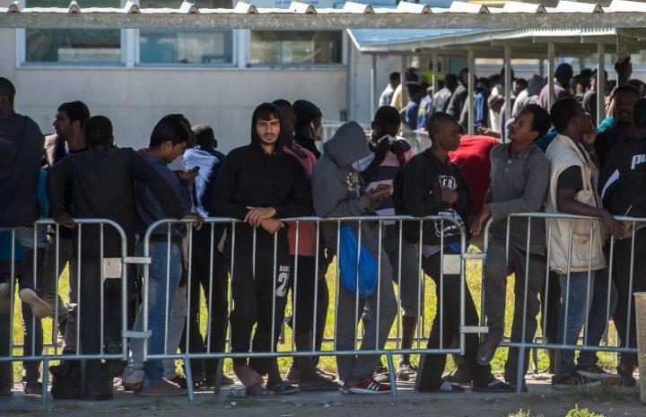 De Britten mogen paspoortcontroles en patrouilles uitvoeren bij Calais - Foto: AFP