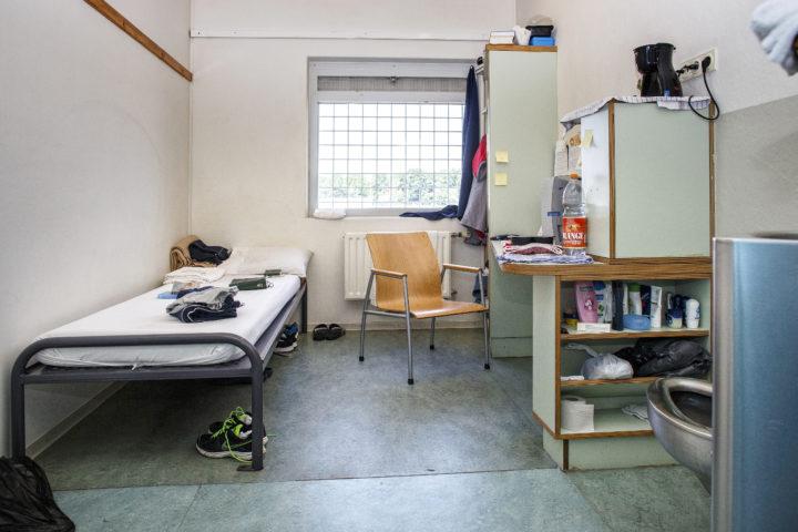 Nederland, Vught, 11 juni 2016 Justitiele inrichting Vught met de de afdeling Penitentiar Psychiatrisch Centrum. Daar worden gevangen vast gezet met psychische problemen. foto: Dolph Cantrijn/Hollandse Hoogte