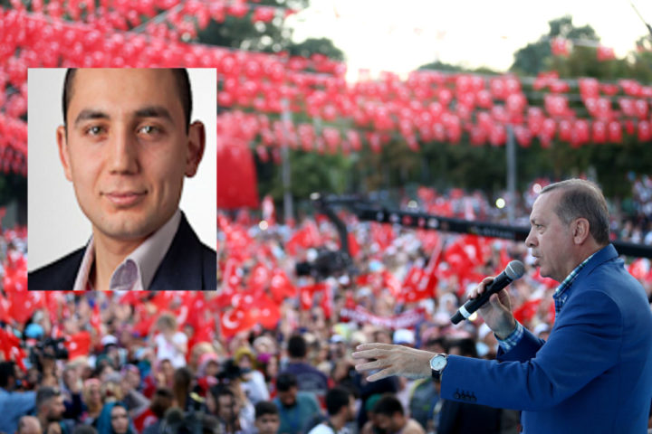 """2016-08-28 18:49:18 A handout picture taken and released on August 28, 2016 by Turkey's Presidential Press Service shows Turkish President Recep Tayyip Erdogan delivering a speech during a rally in Gaziantep. Turkish President Recep Tayyip Erdogan vowed on August 28, 2016 to devote equal energy to combatting Islamic State jihadists and Syrian Kurdish fighters, on the fifth day of a major offensive that has left dozens dead. """"For the issue of the PYD (Democratic Union Party) terror group in Syria, we have just the same determination,"""" he added, referring to the main pro-Kurdish party in northern Syria and its People's Protection Units (YPG) militia. Turkish forces ramped up their offensive, with Turkish warplanes and artillery pounding areas held by pro-Kurdish forces close to a town liberated from IS this week. / AFP PHOTO / TURKEY'S PRESIDENTIAL PRESS SERVICE / YASIN BULBUL / RESTRICTED TO EDITORIAL USE - MANDATORY CREDIT """"AFP PHOTO / TURKEY'S PRESIDENTIAL PRESS SERVICE /YASIN BULBUL"""" - NO MARKETING NO ADVERTISING CAMPAIGNS - DISTRIBUTED AS A SERVICE TO CLIENTS"""