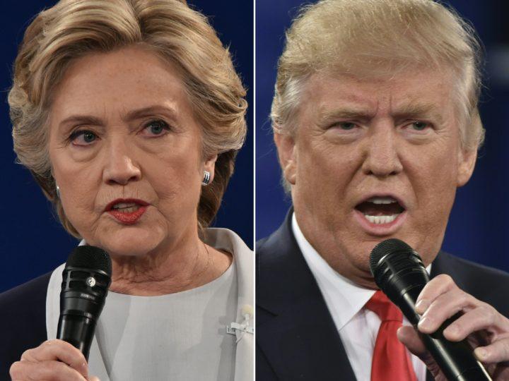 Het debat tussen Clinton en Trump was ongekend venijnig - Foto: AFP