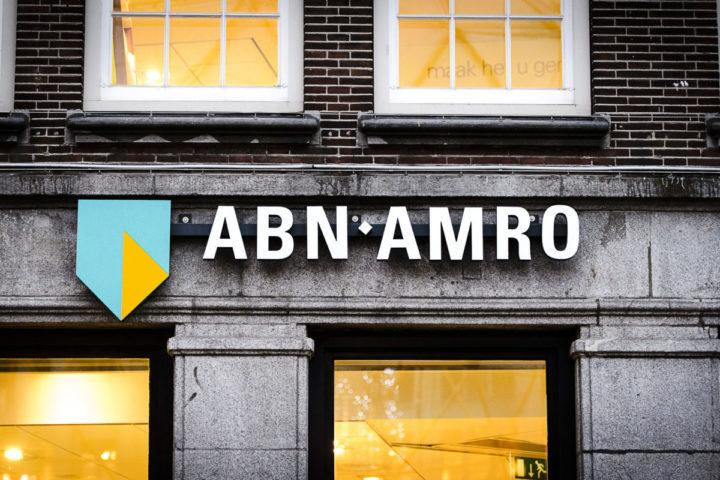 2015-11-19 17:09:48 AMSTERDAM - Logo van ABN AMRO. ANP REMKO DE WAAL