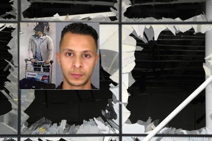 2016-03-23 00:00:00 epa05227624 Illustration picture shows the damaged front of Brussels Airport, in Zaventem, Belgium, 23 March 2016. At least 31 people were killed with hundreds injured in terror attacks in Brussels, Belgium on 22 March. The jihadist terror militia referring to itself as Islamic State (IS) has claimed responsibility for the attacks.  EPA/YORICK JANSENS / POOL