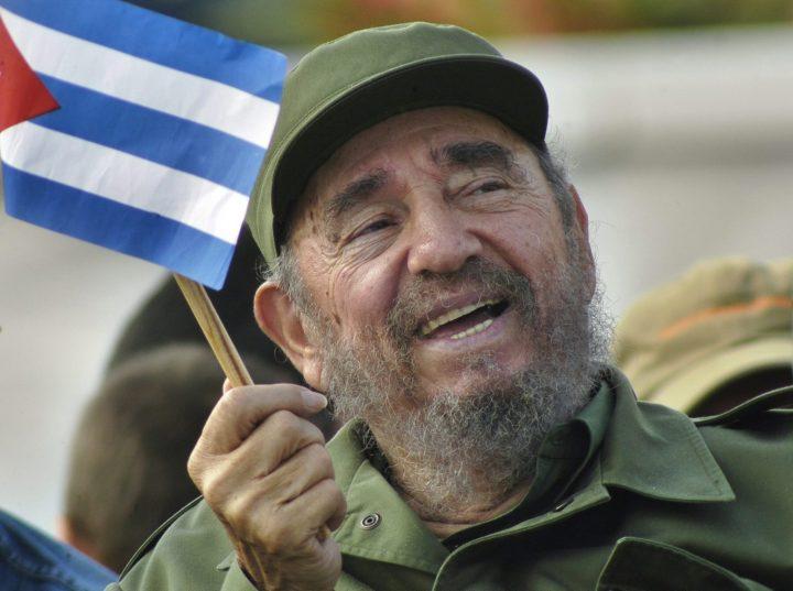 Archiefbeeld van Fidel Castro in 2005 in Havana - Foto: AFP