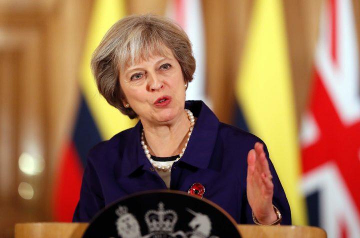 May heeft er alle vertrouwen in dat ze op schema kan blijven met haar Brexit-plannen - Foto: AFP
