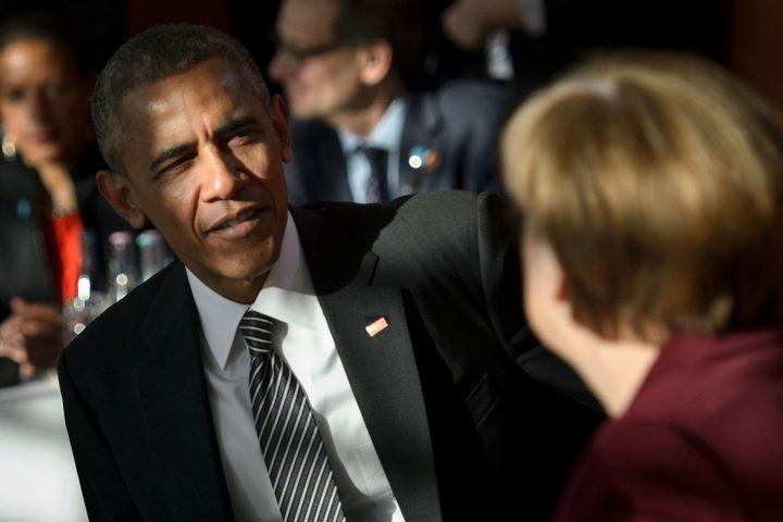 Obama was afgelopen week voor het laatst als president in Europa - Foto: AFP