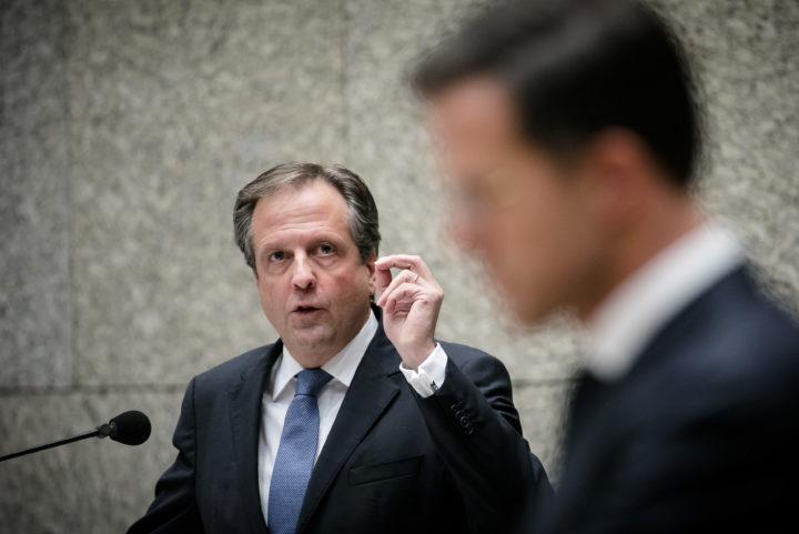 Pechtold had liever gezien dat Rutte Trump aan het denken had gezet - Foto: ANP