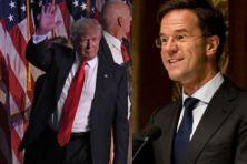 Hierover spreken Rutte en Trump elkaar vanavond