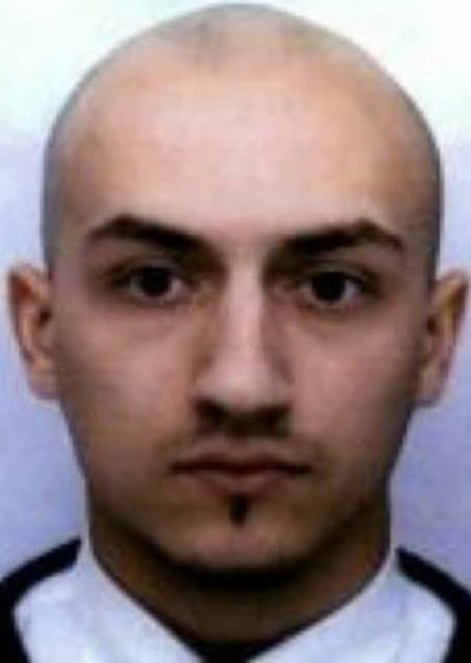 2015-11-16 16:16:02 (FILES) This file handout photo released on November 16, 2015 by the Amimour family shows a recent picture of Samy Amimour, 28, one of the suicide bombers who attacked a Paris concert hall on November 13 in Paris. Samy Amimour, one of the men who massacred 90 people at the Bataclan music venue in Paris was buried in the northern Seine-Saint-Denis suburb of Paris, local officials said on December 27, 2015. / AFP / Amimour family / HO