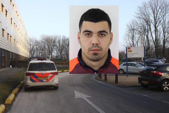 Adahchour (24) ging er woensdag rond half 2 's middags vandoor vanuit het Sint Franciscus Gasthuis in het noorden van Rotterdam. Foto: ANP