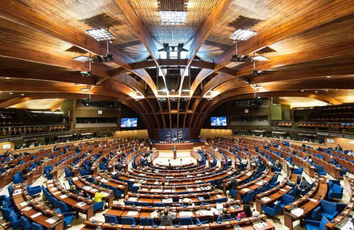 De Raad van Europa debatteert - Foto: AFP