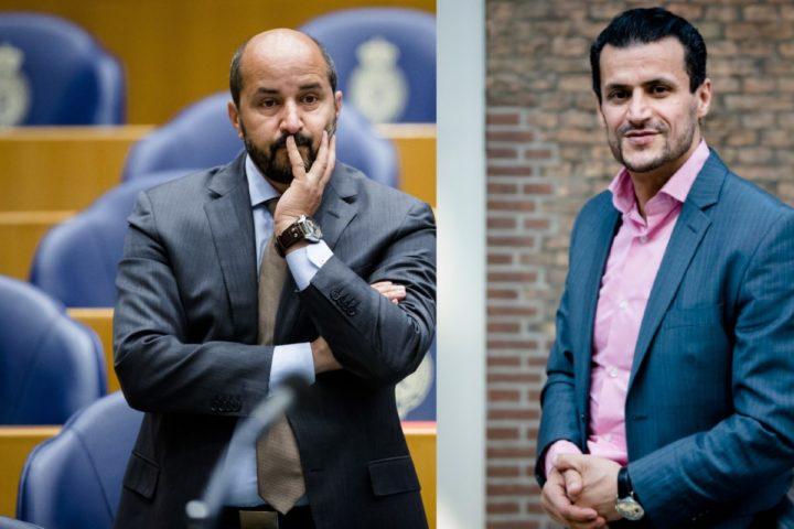 2016-06-09 10:19:57 DEN HAAG - Ahmed Marcouch (pvda) tijdens een plenair debat over het nationaal actieprogramma tegen discriminatie. ANP BART MAAT