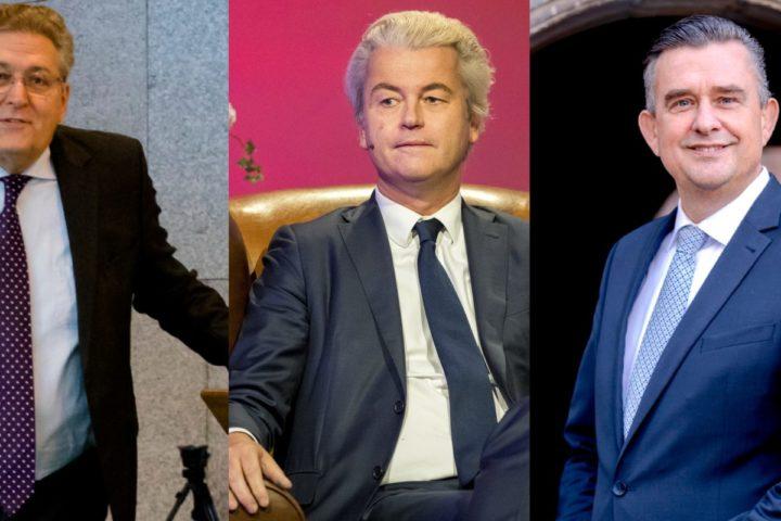 2016-12-19 18:35:09 DEN HAAG - PVV leider Geert Wilders tijdens de EenVandaag Politicus van het Jaar-verkiezing 2016. ANP JERRY LAMPEN