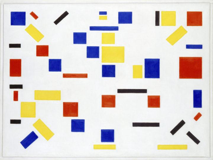 Bart van der Lecks Compositie nr. 8 uit 1917