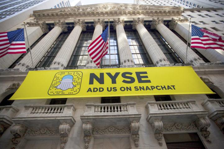 Snapchat hoopt op de beurs van New York zo'n 3 miljard euro op te halen