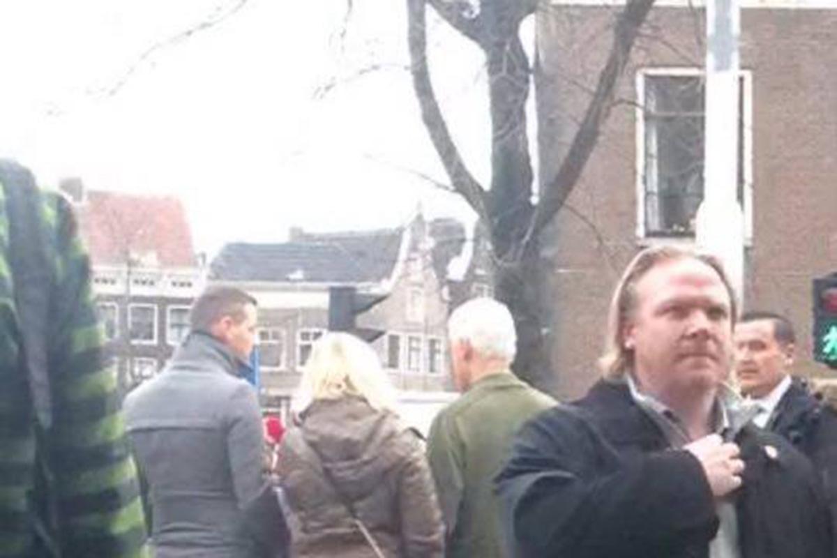 Oud president bill clinton gespot in amsterdam - Groen baudet meisje ...
