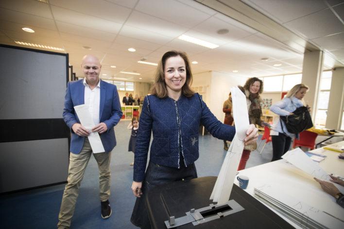 Verkiezingen: Thieme brengt haar stem uit