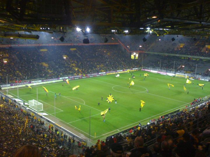 Het stadion van Dortmund Foto: Flickr