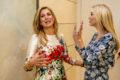 Máxima ontmoet Ivanka Trump op vrouwentop Berlijn (foto's)