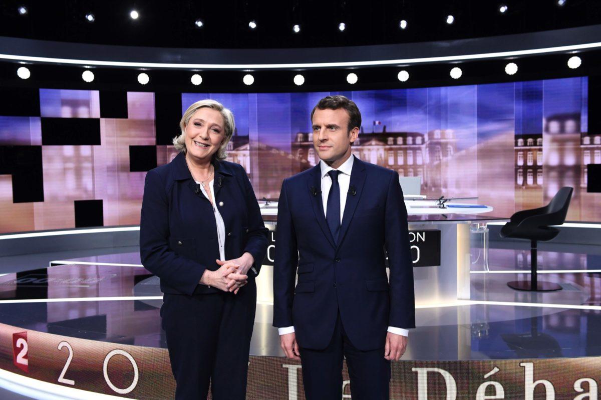 Macron en Le Pen kruisen de degens in verhit debat Elsevier