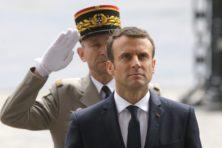 Emmanuel Macron formeert wel even voor ons