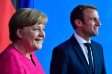 Merkel en Macron moeten Brexit voorkomen