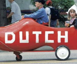 Nederlandse tradities bleven nog lang in gebruik. Foto: Jose Azel/HH
