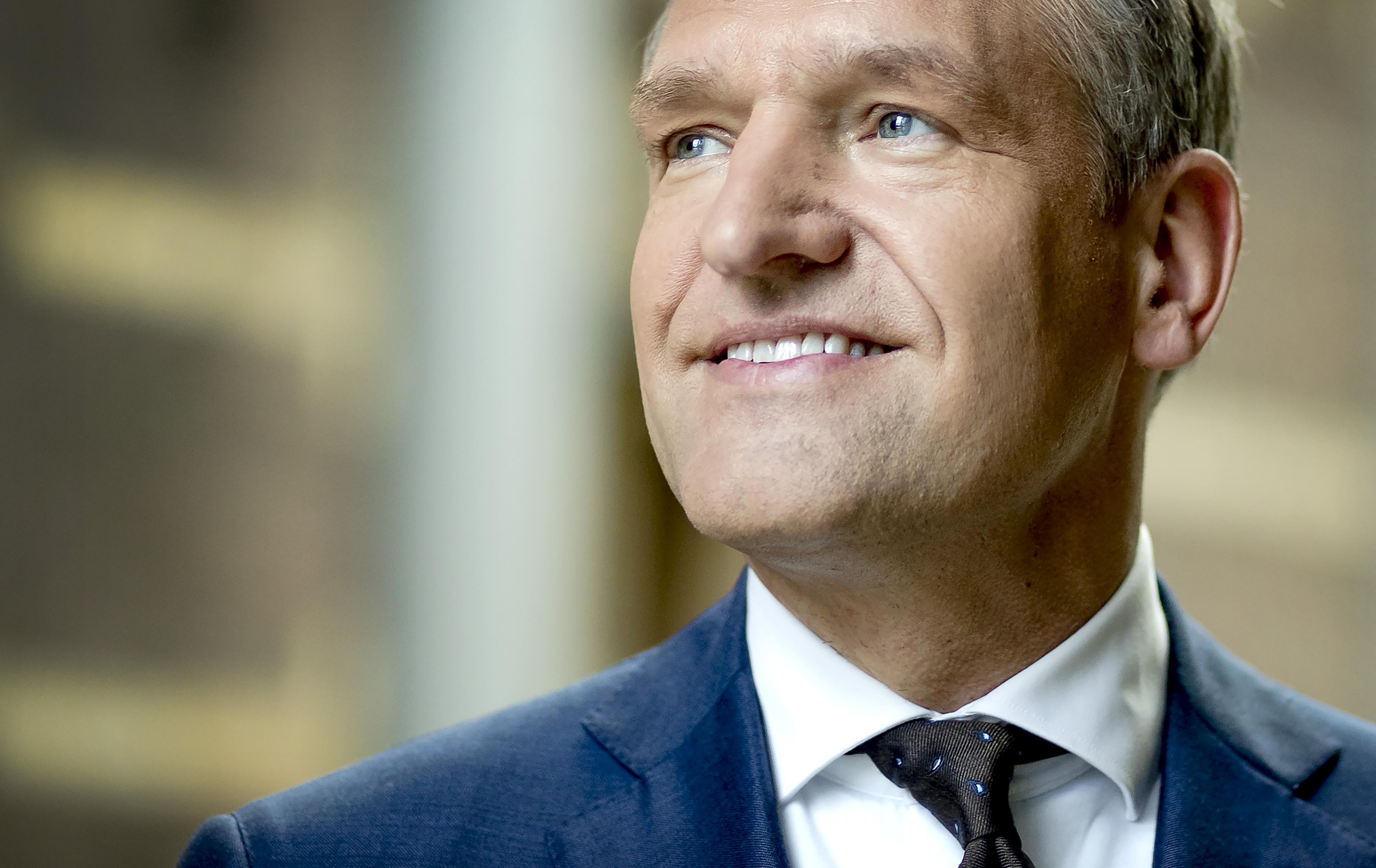 2017-01-12 14:13:52 DEN HAAG - Portret van Sybrand van Haersma Buma, fractievoorzitter en lijsttrekker van het CDA. ANP REMKO DE WAAL