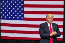 Rutte spekt schatkist Trump