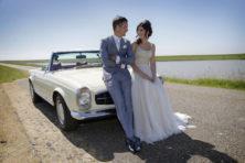 Huwelijk: Johnny Hoogerland (34) en Gerda Koops (31)