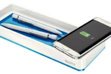 Hebbeding: pennenbak laadt smartphone op