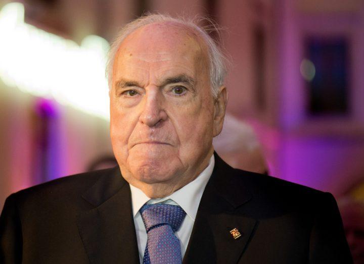 Helmut Kohl werd 87 jaar - Foto: AFP