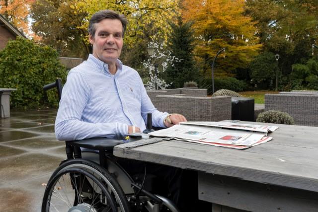 Jacques Willaarts bracht 14 maanden door in het ziekenhuis en in een revalidatiekliniek