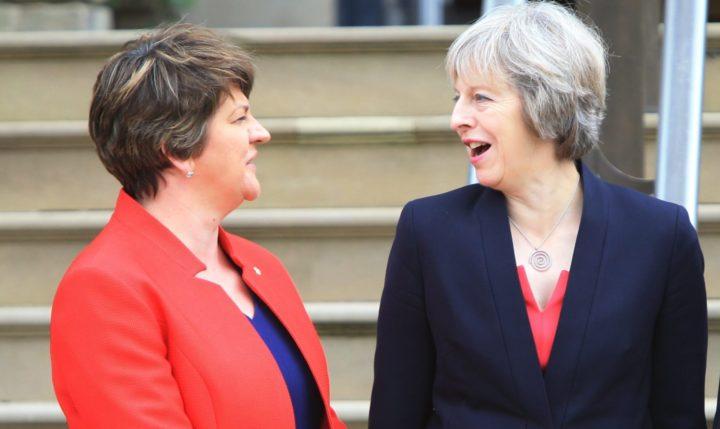 BRITAIN NORTHERN IRELAND POLITICS MAY