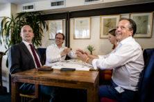 Pechtold en Segers positief over formatiediner: 'Smaakt naar meer'