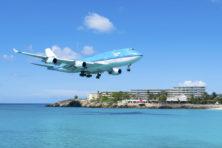KLM vleugellam door Frans gepruts